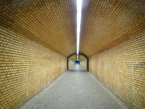 ochre brick tunnel: ochre brick tunnel