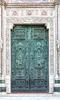 Cathedral metal door