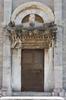 Ancient metal door