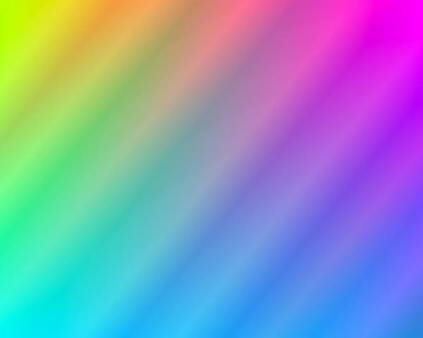 Rainbow Gradient Background 5: A colourful background or fill in a gradient of rainbow colours. You may prefer:  http://www.rgbstock.com/photo/n2UtdJe/Rainbow+Gradient+Background  or:  http://www.rgbstock.com/photo/ohSpQzs/Rainbow+Gradient+Background+3