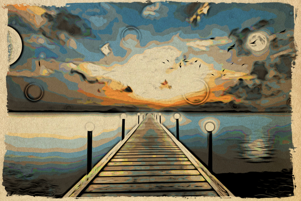 dock: Abstract graphic