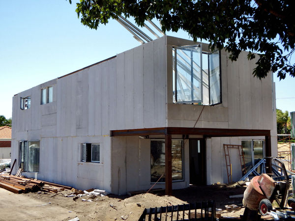 Free stock photos rgbstock free stock images prefab for Prefab concrete house